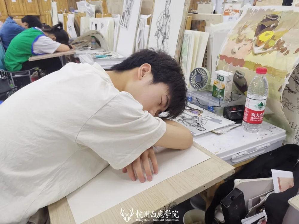 杭州白鹿日常 | 你说艺考美术生考大学很容易?你来试一试,19