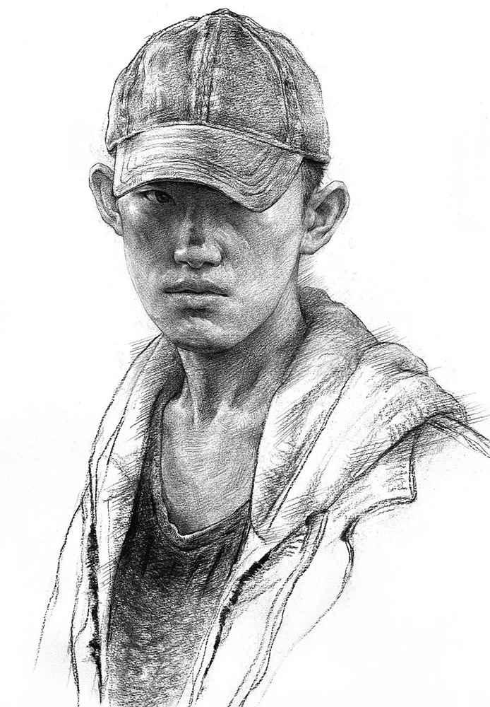 杭州艺考画室给你整理了神韵素描,看看这扎实的功底,11