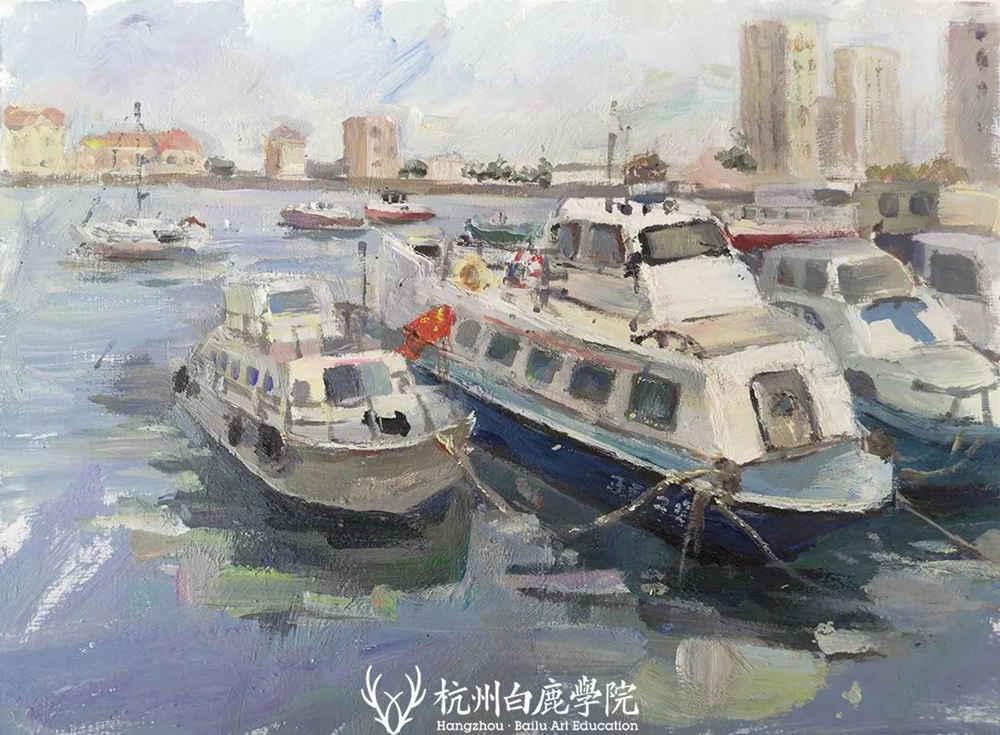 杭州艺考画室写生季 | 杭州白鹿学院下乡写生通知及注意事项,41