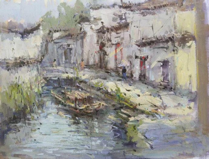 杭州艺考画室给你全面剖析色彩风景与色彩静物,美术生速看,01