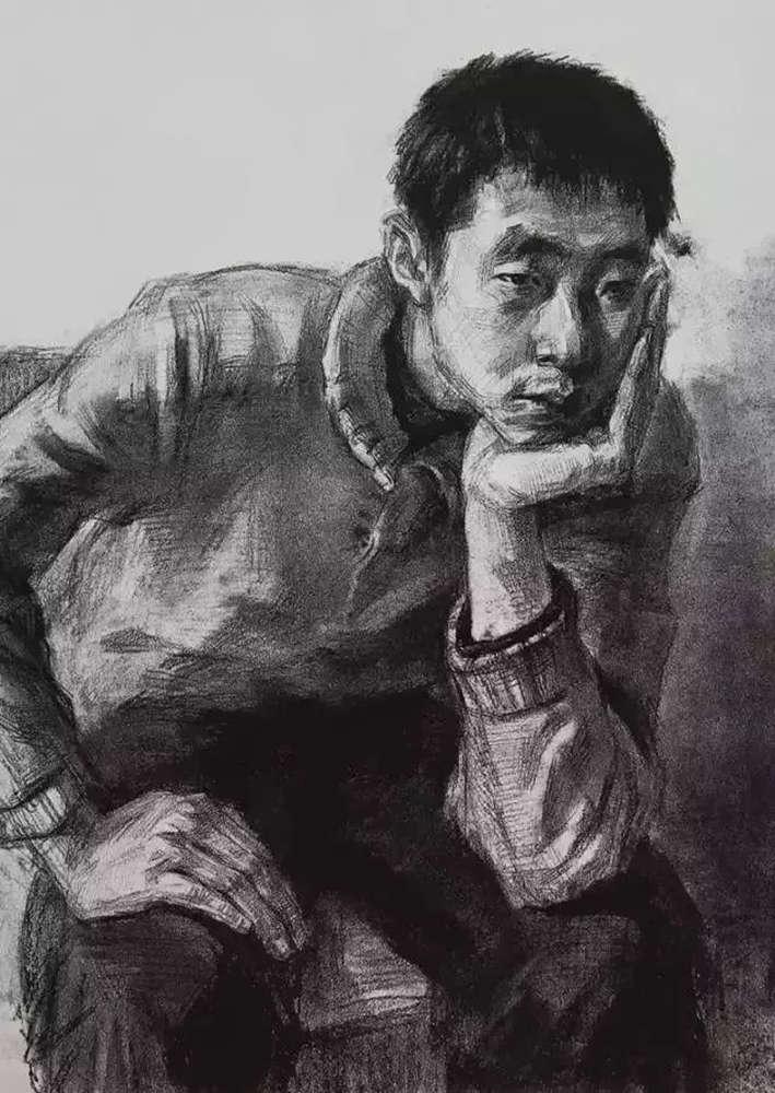 杭州艺考画室给大家整理了央美高分卷-素描、色彩、速写,04