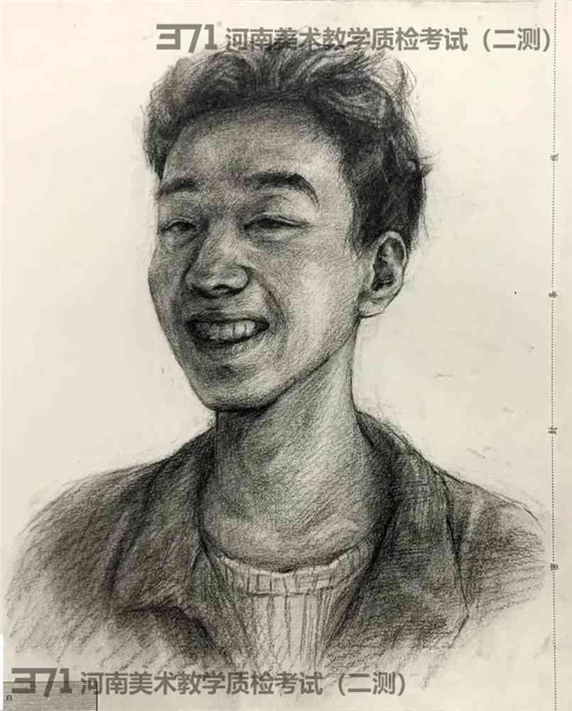 为更好的打磨自己,杭州画室集训班分享2021届河南省二模高分卷,22