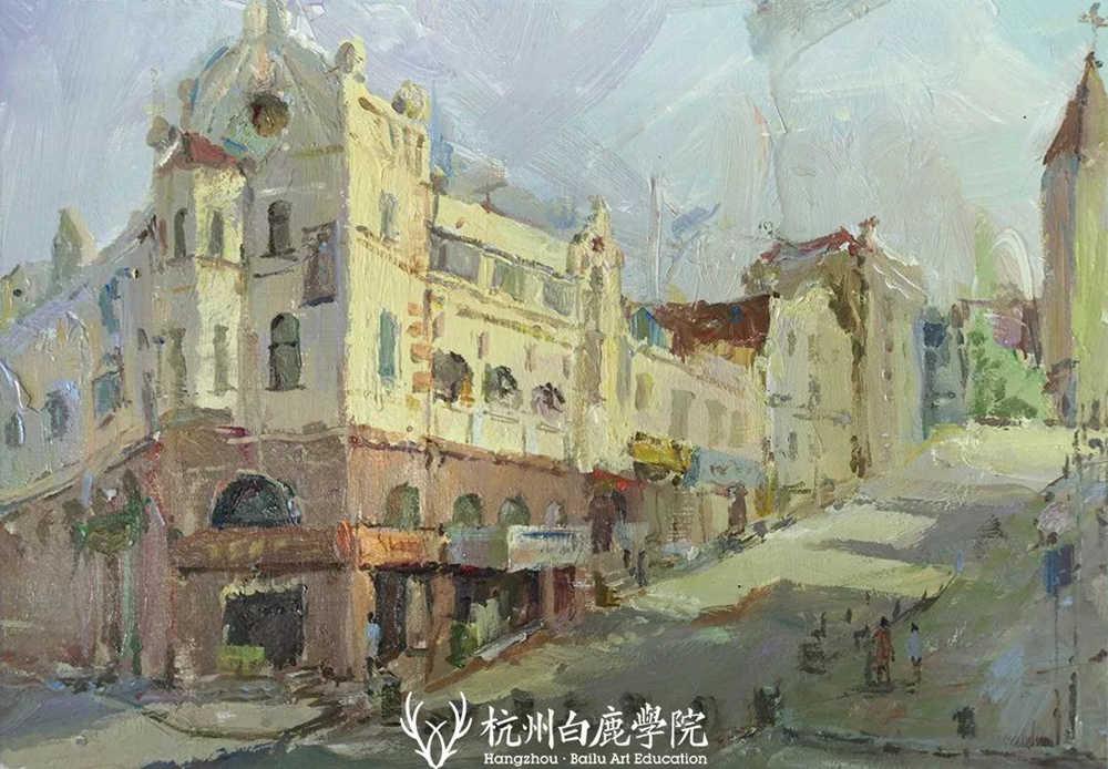 杭州艺考画室写生季 | 杭州白鹿学院下乡写生通知及注意事项,50
