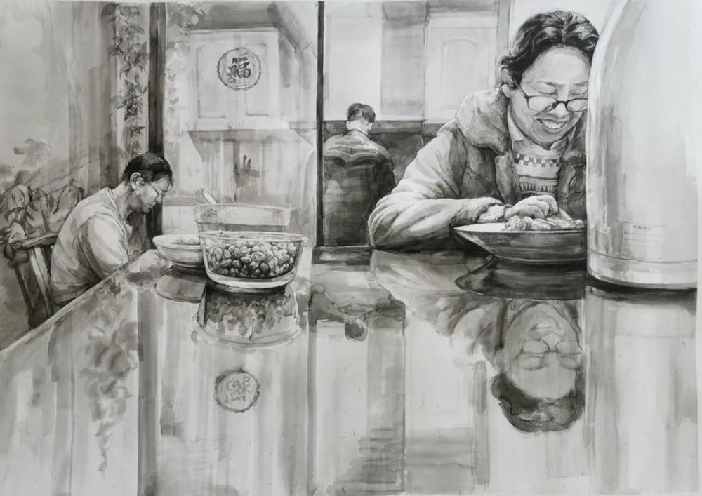 杭州艺考画室,杭州画室培训,杭州画室作品欣赏,44