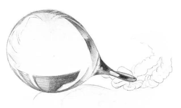 想知道为何O基础也可以画出的玻璃质感?杭州艺考画室老师教你,03