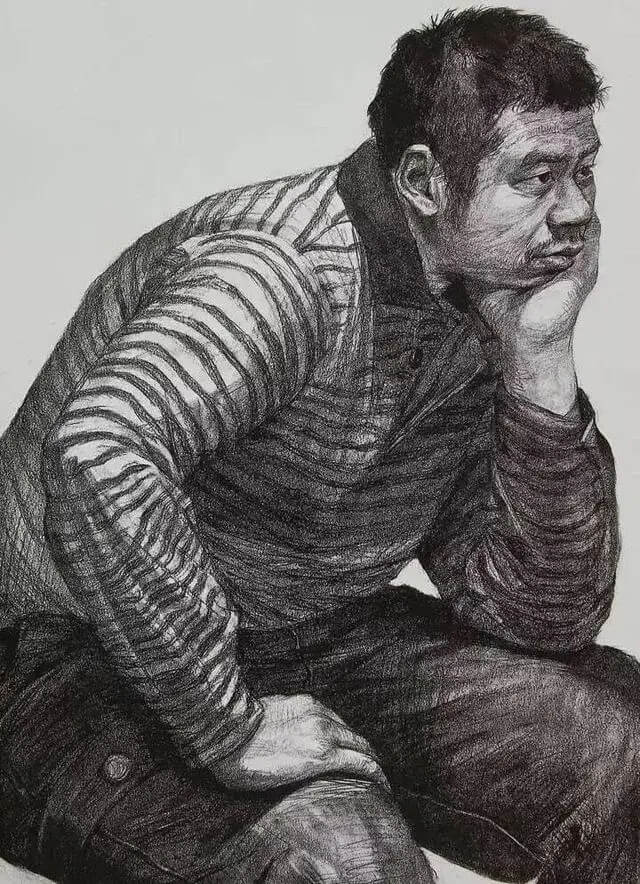 杭州画室培训班干货教程|距离央美校考初试不到一个月!抓紧来学习怎么画央美半身像!