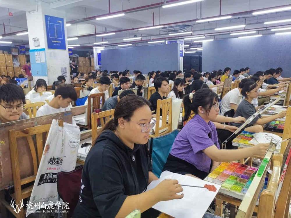 来吧,展示!杭州艺考画室白鹿八月月考进行中,07