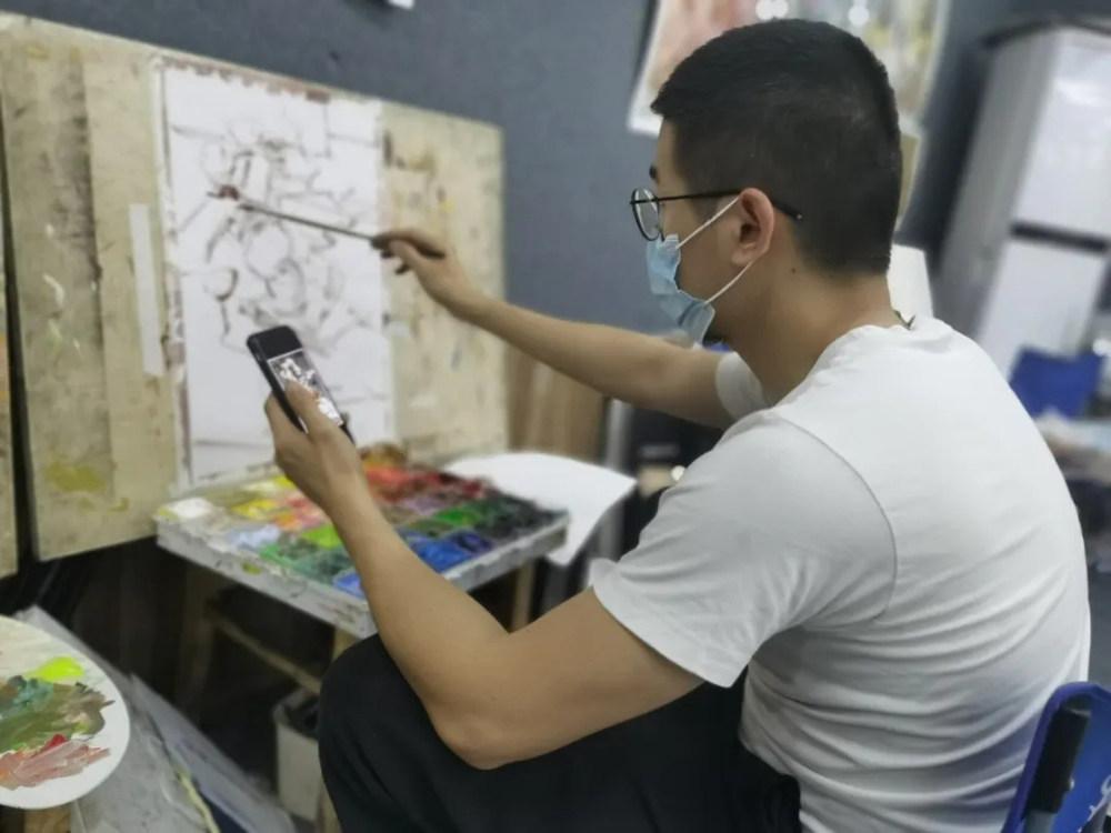 杭州艺考画室日常 | 你说美术生考大学很容易?要不你来试一试,35