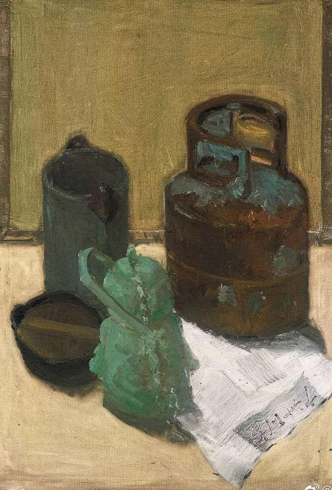 杭州艺考画室给你整理了难得一见的广美基础部收藏级色彩作品,40