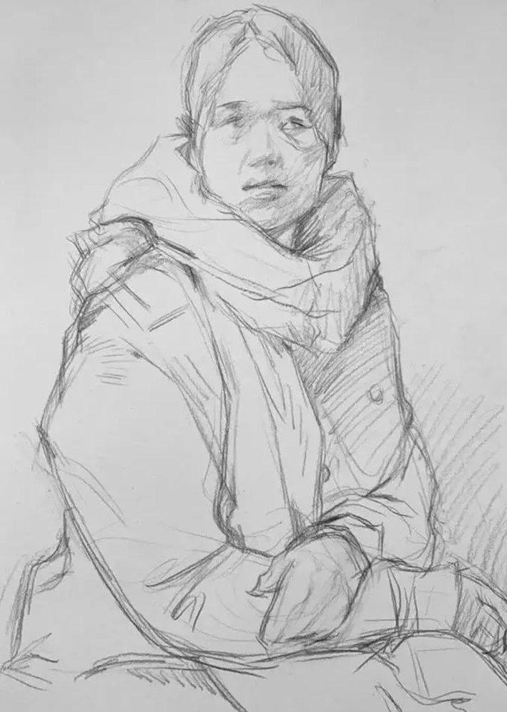 杭州艺考画室,杭州素描画室,杭州画室培训,19