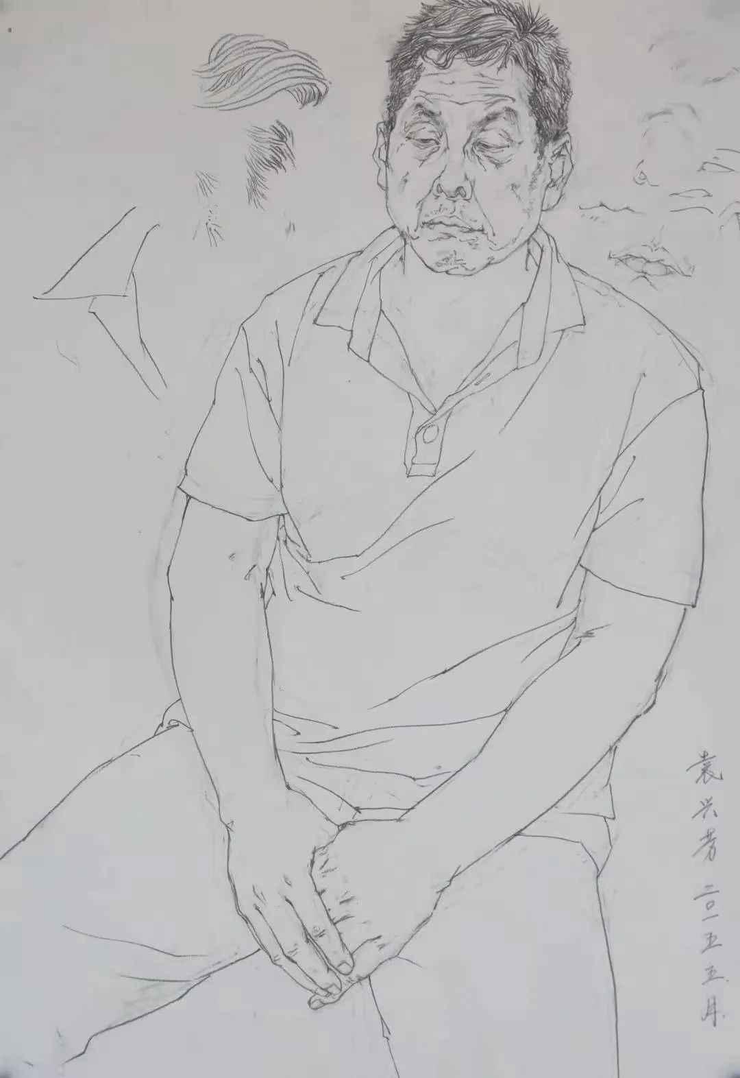 杭州画室集训班速写名师——袁兴芳作品集,05