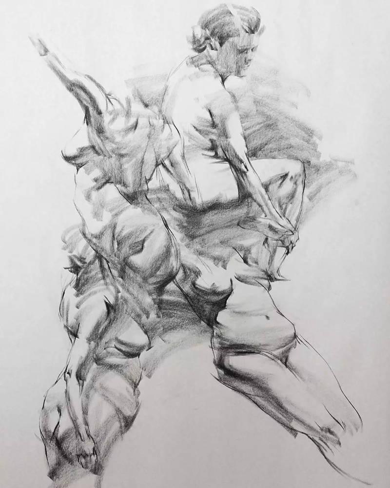 杭州画室,杭州速写画室,杭州美术培训画室,09