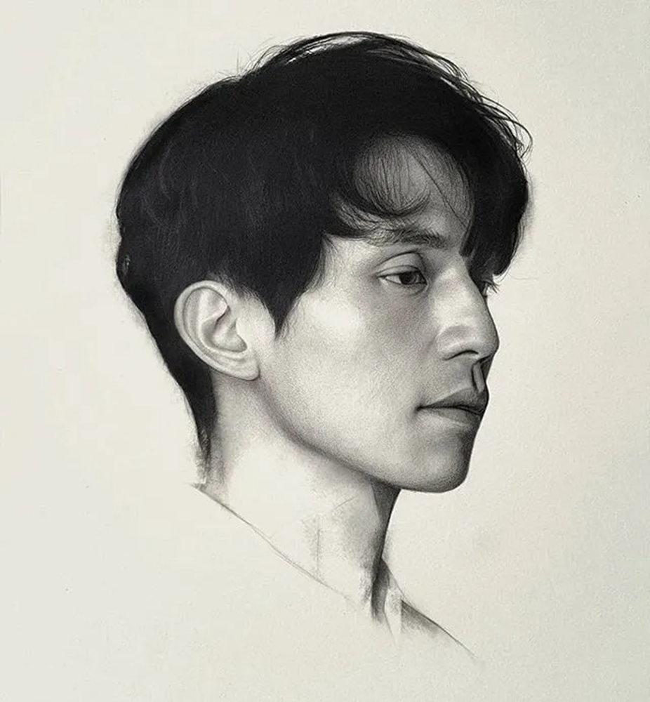 杭州艺考画室给你整理了神韵素描,看看这扎实的功底,25