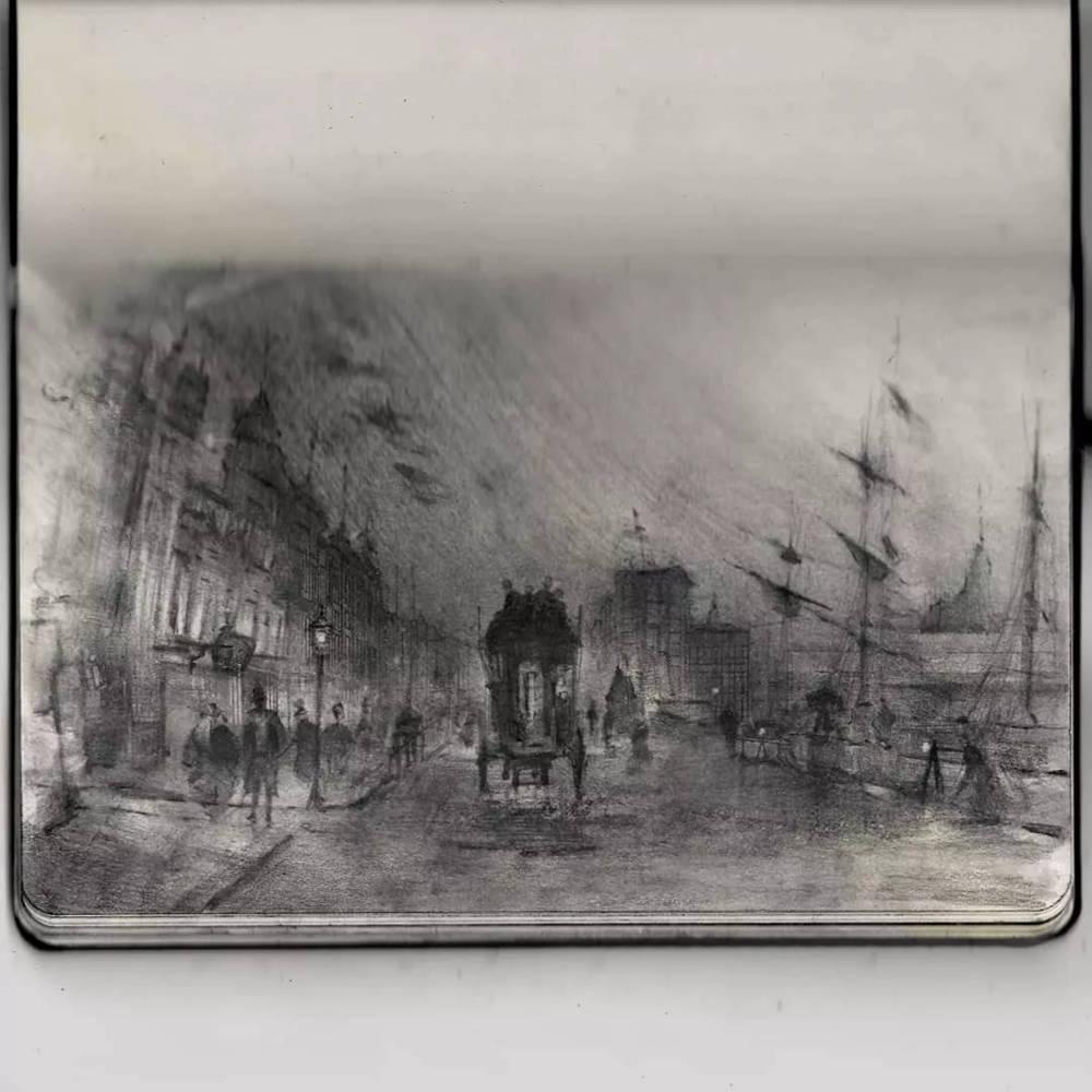 杭州艺考画室整理的一眼就爱的素描,这松动的笔触绝了,44