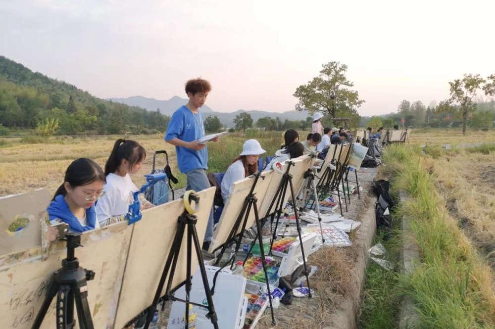 杭州艺考画室写生季 | 杭州白鹿学院下乡写生通知及注意事项,26