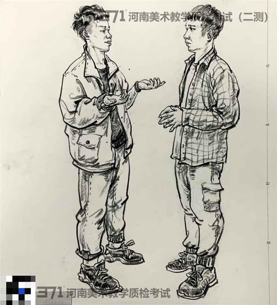 为更好的打磨自己,杭州画室集训班分享2021届河南省二模高分卷,16