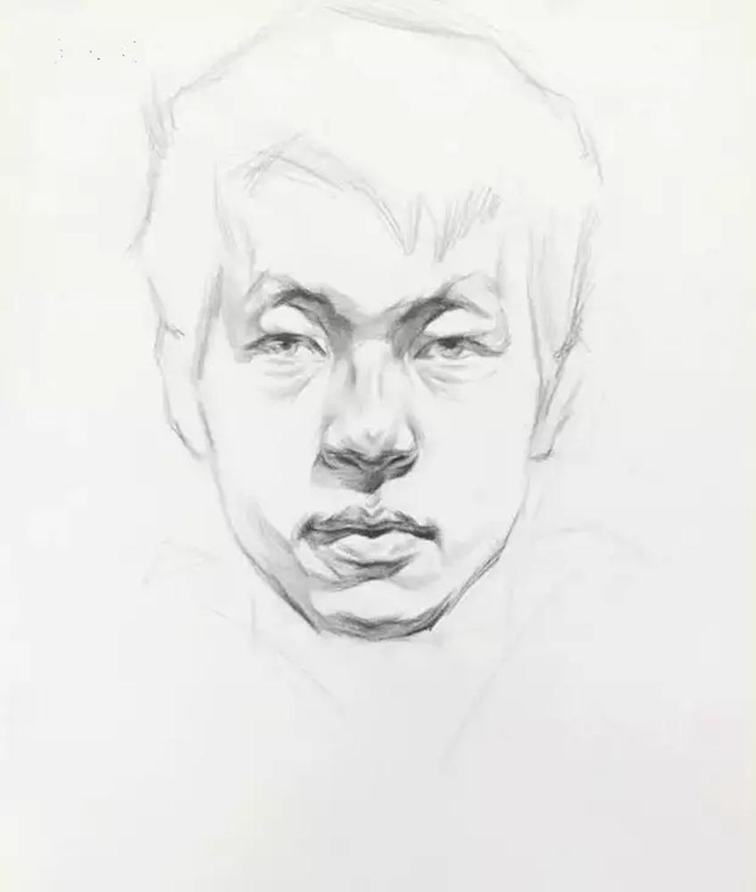 这么实用素描头像结构教程,杭州艺考画室都给你搞来了,04