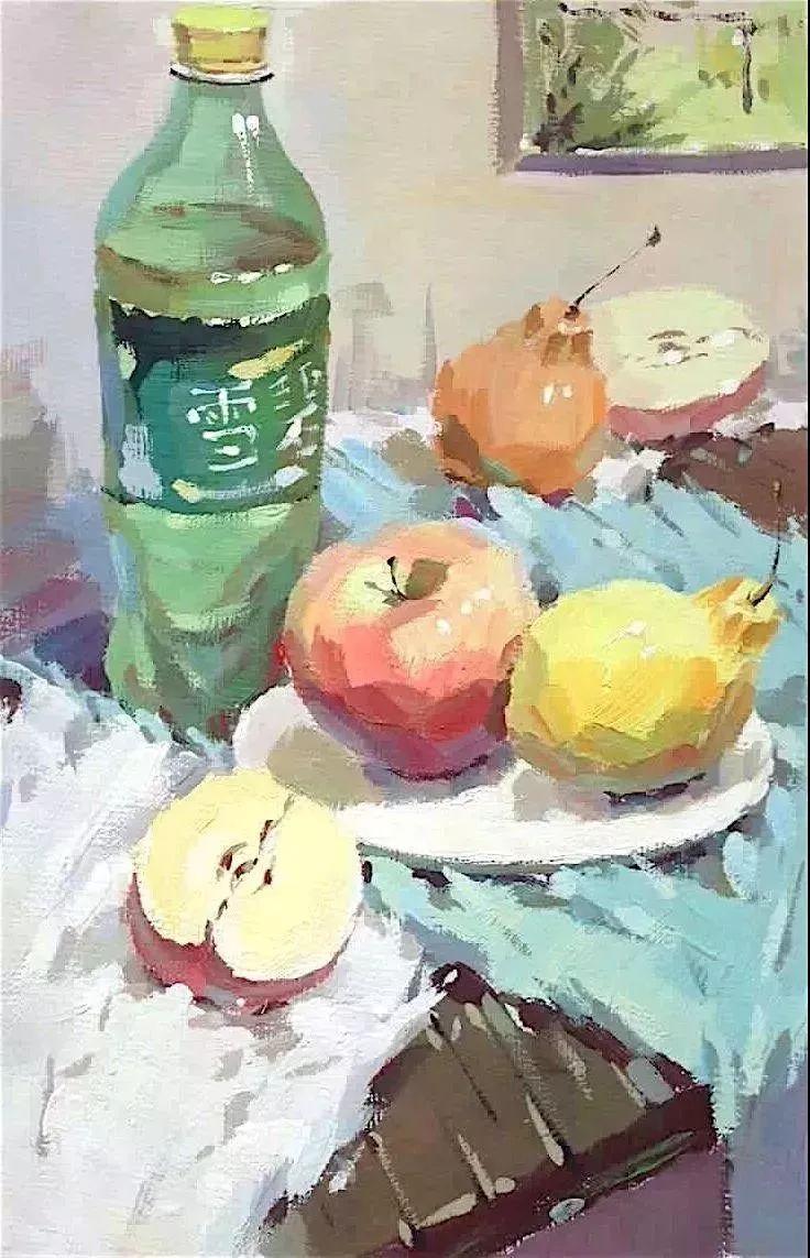 杭州艺考画室给你全面剖析色彩风景与色彩静物,美术生速看,18