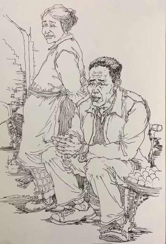 杭州艺考画室,杭州美术画室,杭州画室速写培训,07