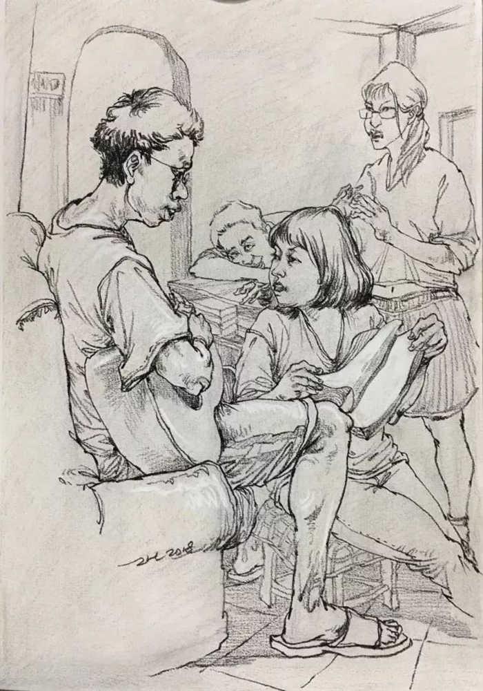 杭州艺考画室,杭州美术画室,杭州画室速写培训,05