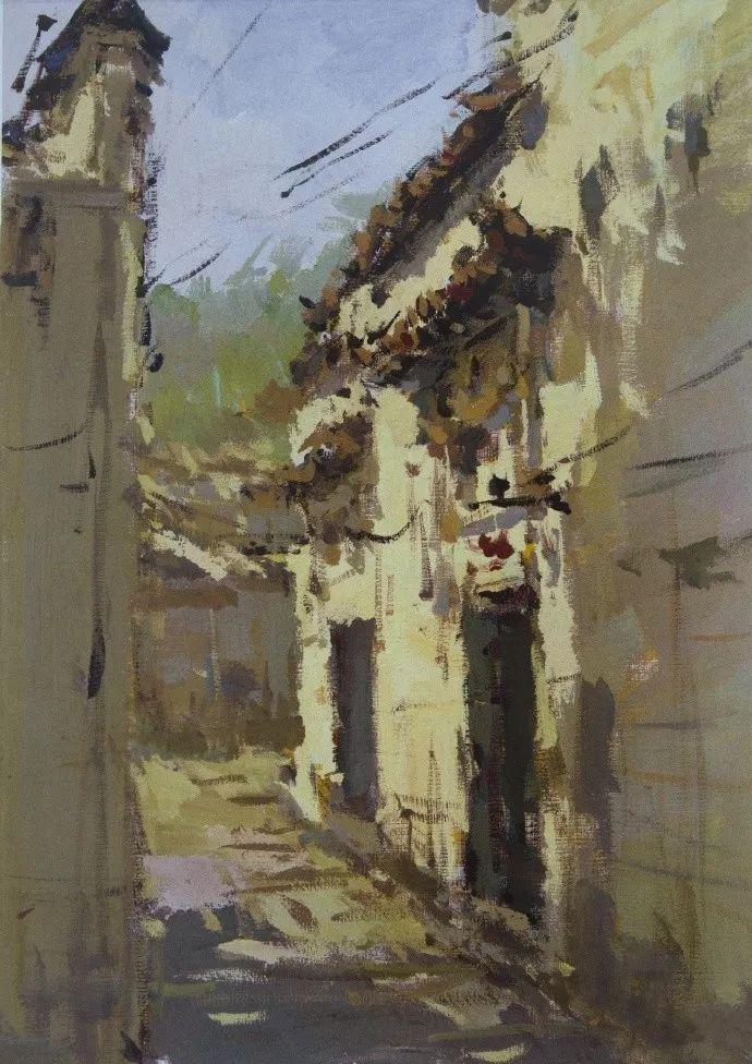 杭州艺考画室给你全面剖析色彩风景与色彩静物,美术生速看,06