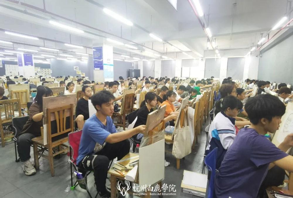 杭州艺考画室日常 | 你说美术生考大学很容易?要不你来试一试,27
