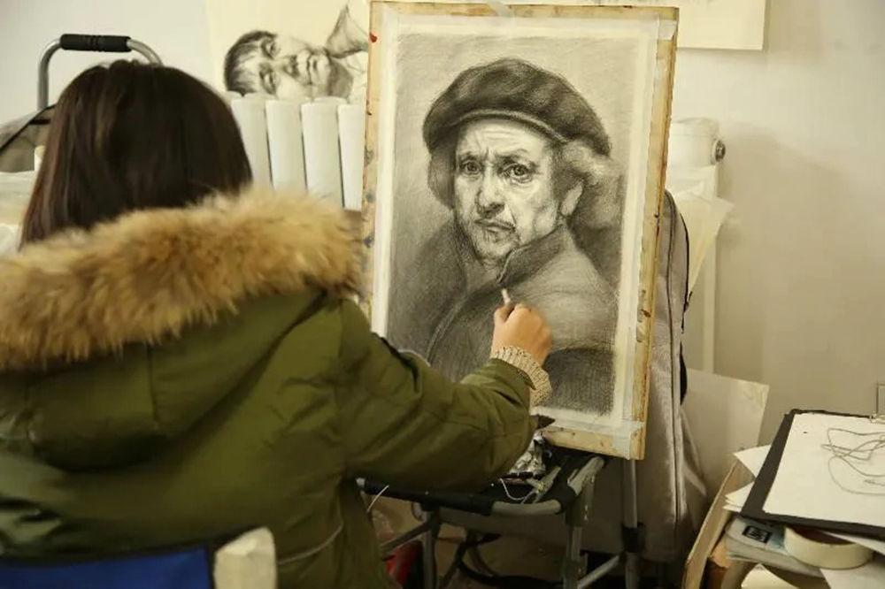 杭州艺考画室告诉美术生该如何突破瓶颈期,05