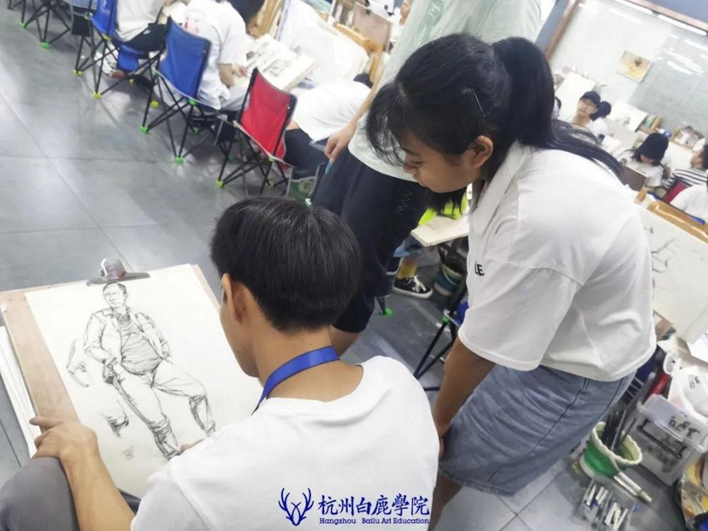 杭州白鹿日常 | 你说艺考美术生考大学很容易?你来试一试,52
