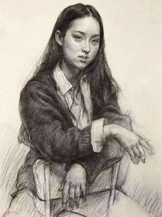 不想素描带手半身像成为你的弱项!一定要看杭州画室集训班整理这篇,06