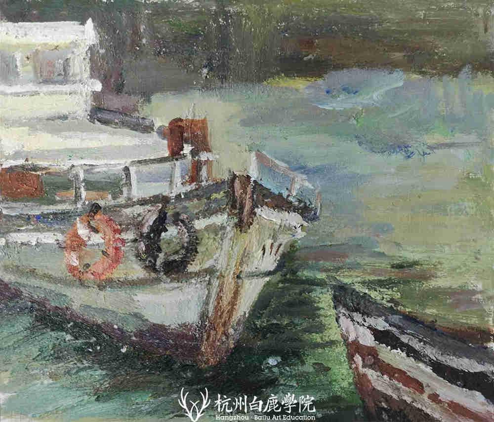杭州艺考画室写生季 | 杭州白鹿学院下乡写生通知及注意事项,43