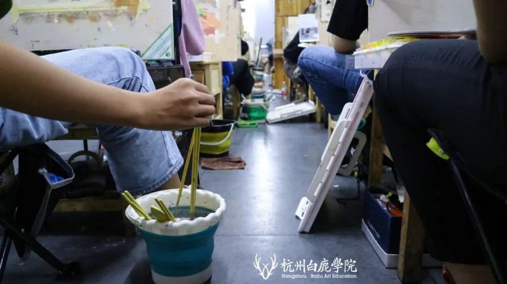 来吧,展示!杭州艺考画室白鹿八月月考进行中,15