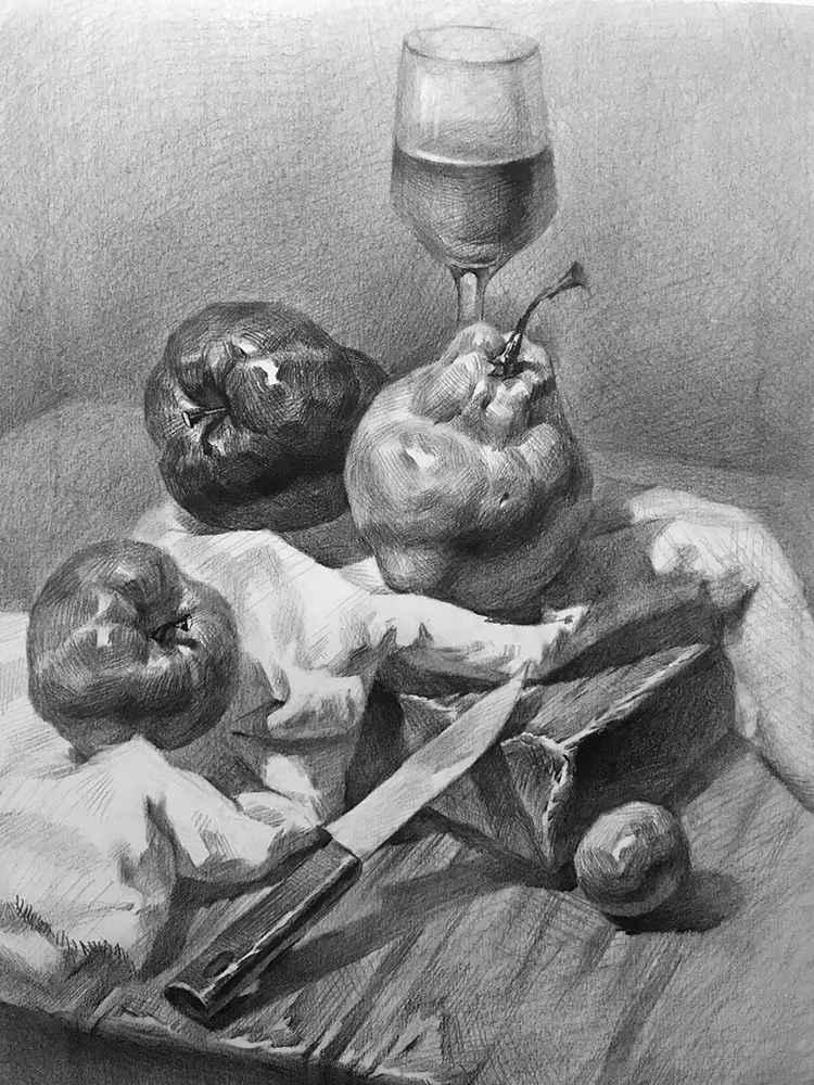 杭州白鹿画室,杭州画室,杭州素描美术培训,20