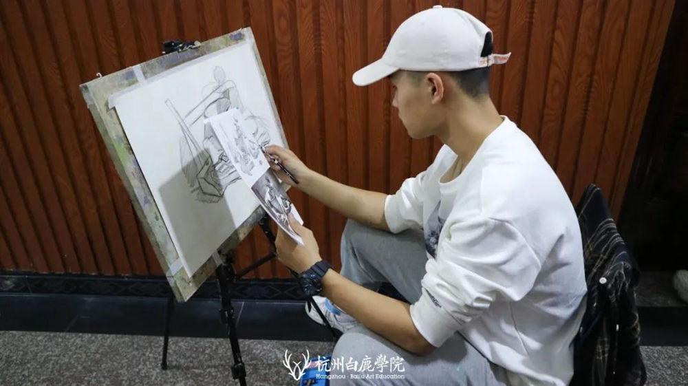 杭州艺考画室白鹿写生季 | 秋天的第一场写生未完待续,56