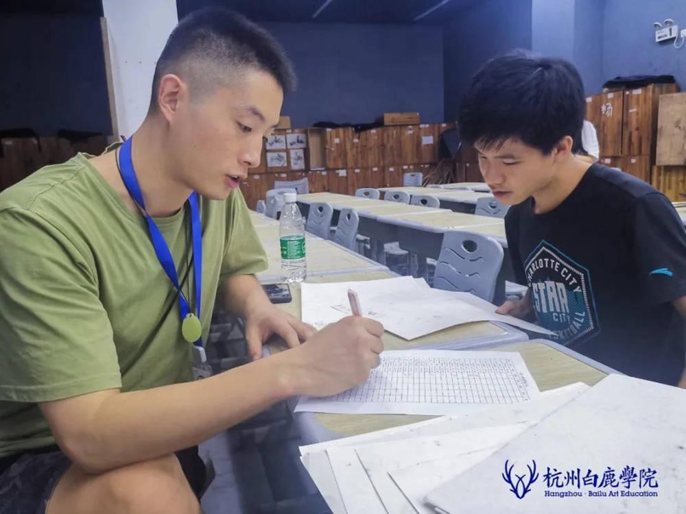 来吧,展示!杭州艺考画室白鹿八月月考进行中,31