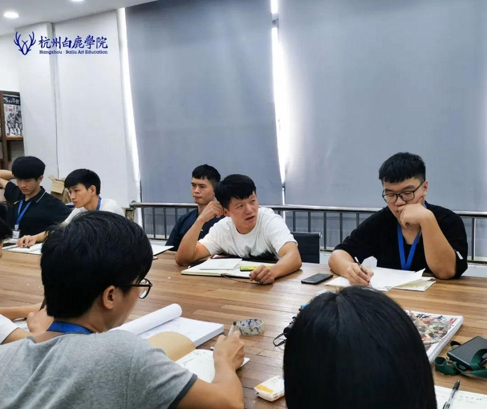 来吧,展示!杭州艺考画室白鹿八月月考进行中,38