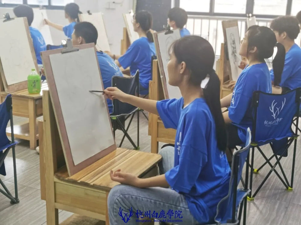 杭州白鹿日常 | 你说艺考美术生考大学很容易?你来试一试,11