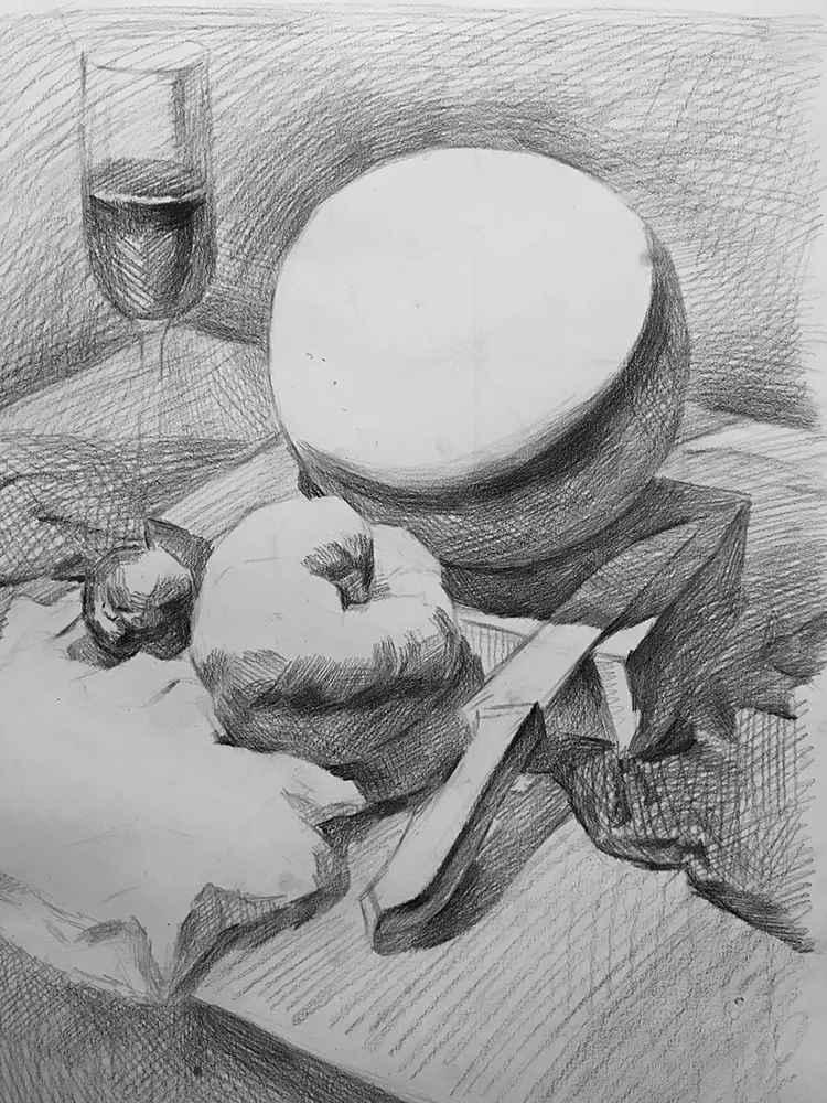 杭州白鹿画室,杭州画室,杭州素描美术培训,03