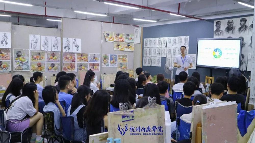 来吧,展示!杭州艺考画室白鹿八月月考进行中,42