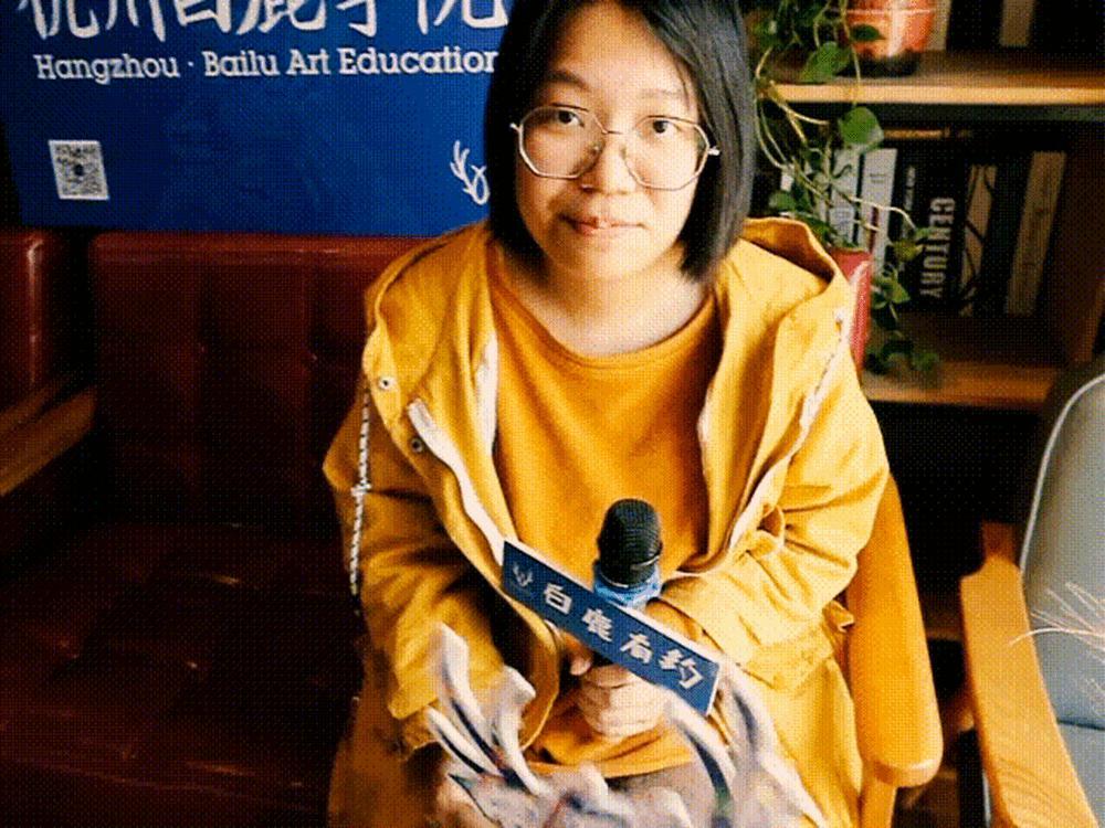 杭州白鹿画室有约|王曼真:在艺术氛围下长大,13