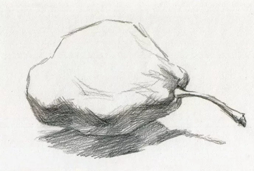 静物素描太难,杭州艺考画室整理的详细教程在里面,06