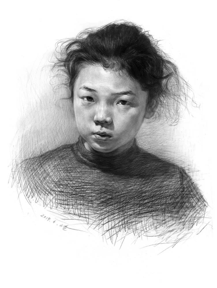 杭州艺考画室告诉你素描结构、色调、质感该如何表现?,19