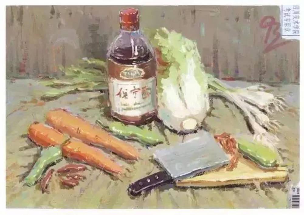 杭州艺考画室告诉你联考色彩与校考色彩的区别有多大,09