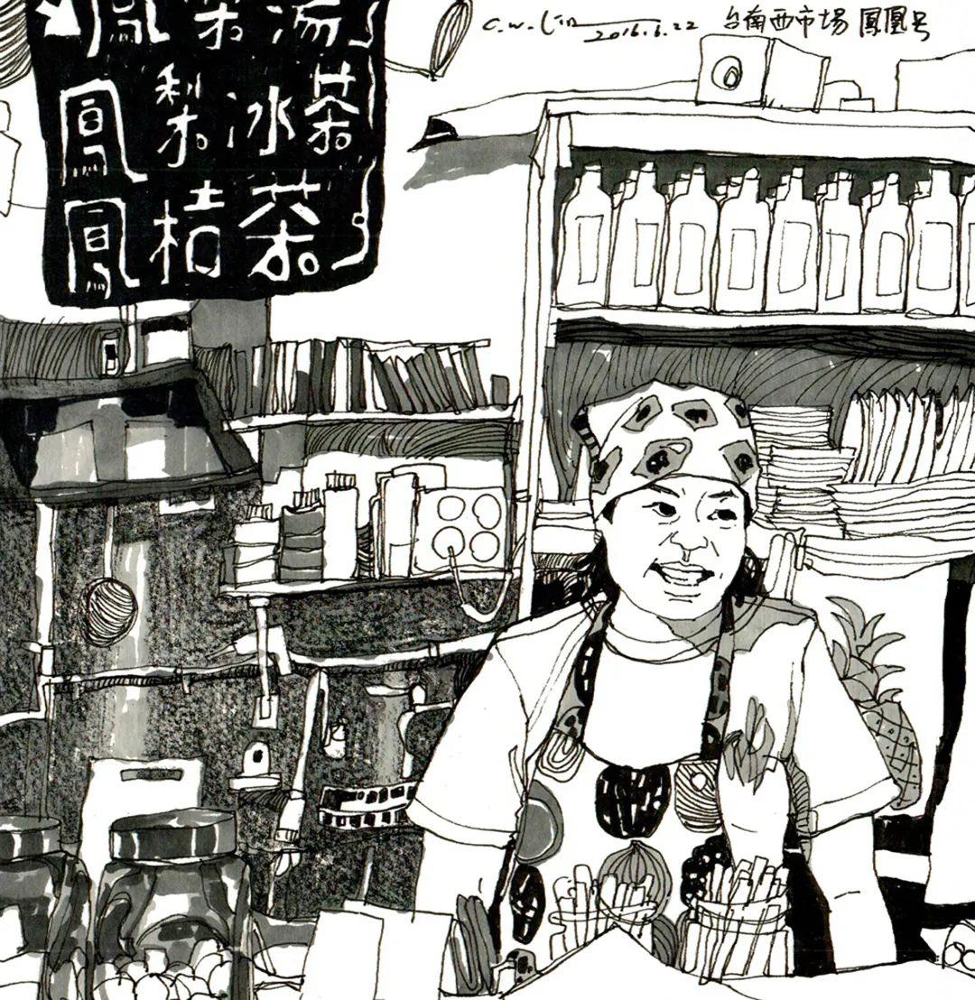 想考美院,杭州艺考画室聚德码住这些场景速写就能考取高分,01