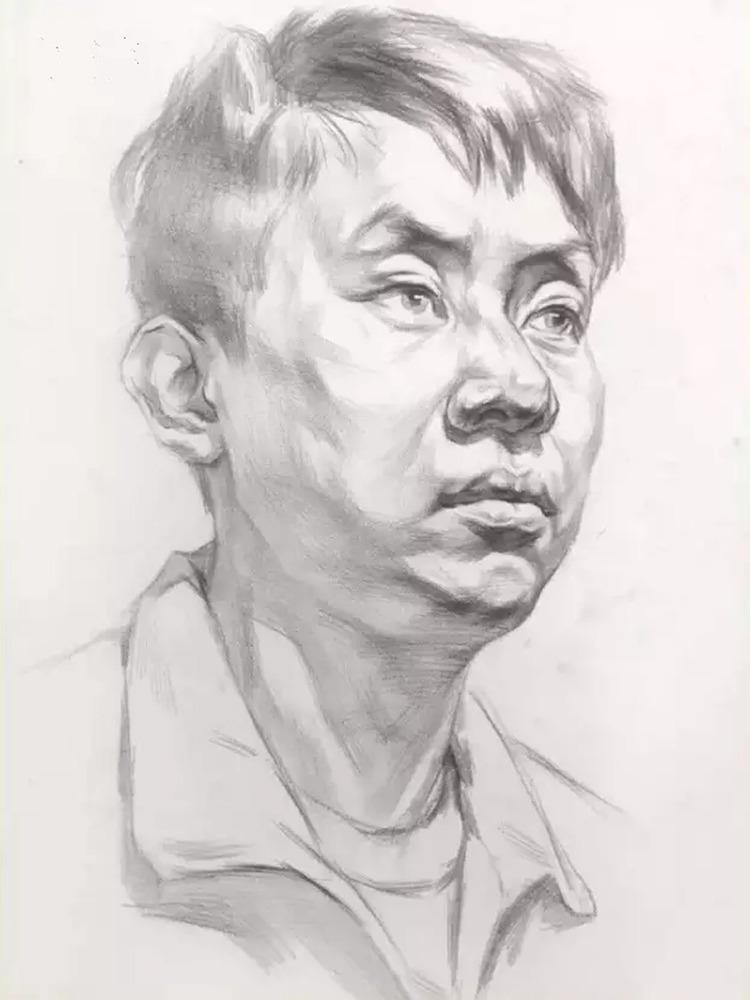 这么实用素描头像结构教程,杭州艺考画室都给你搞来了,22