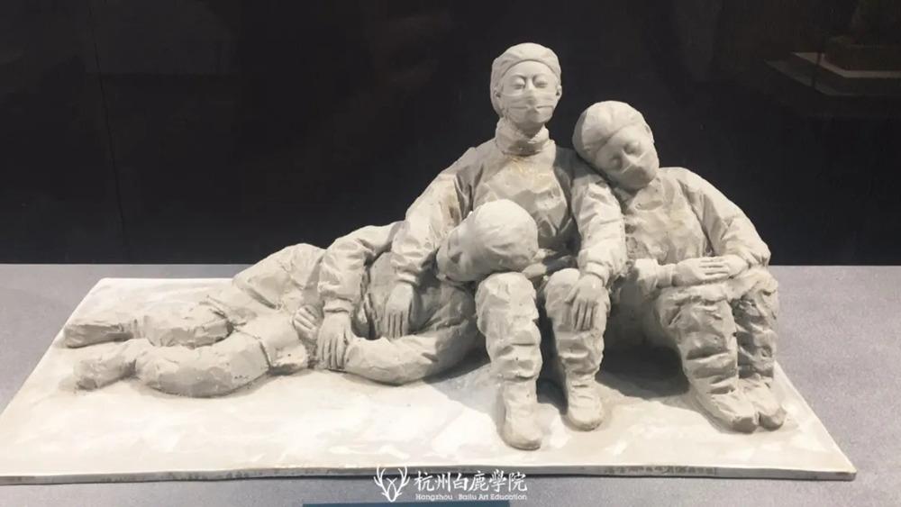 杭州艺考画室暑假班 | 游学致敬抗疫英雄,强国少年未来可期,17