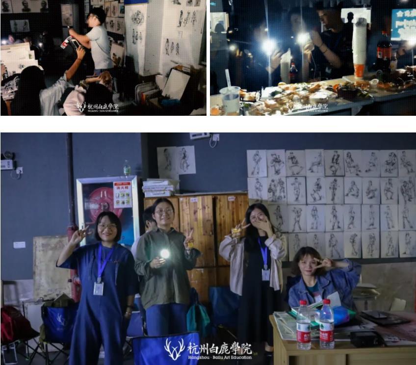 这个双节,杭州艺考画室白鹿学院陪你们过,17