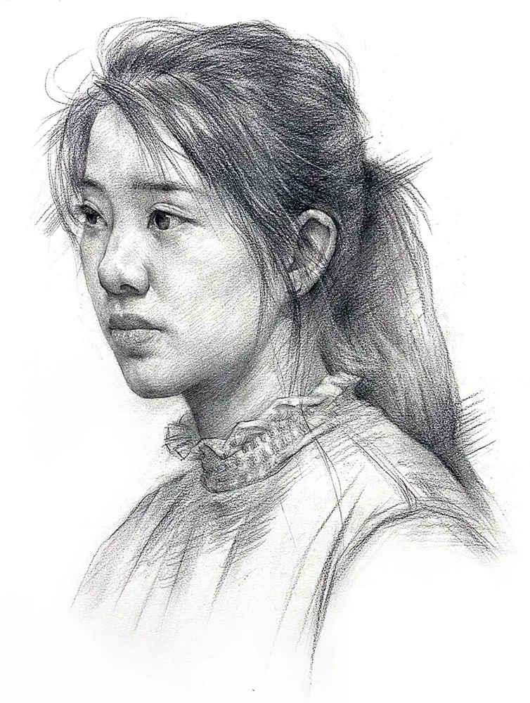 杭州艺考画室给你整理了神韵素描,看看这扎实的功底,16