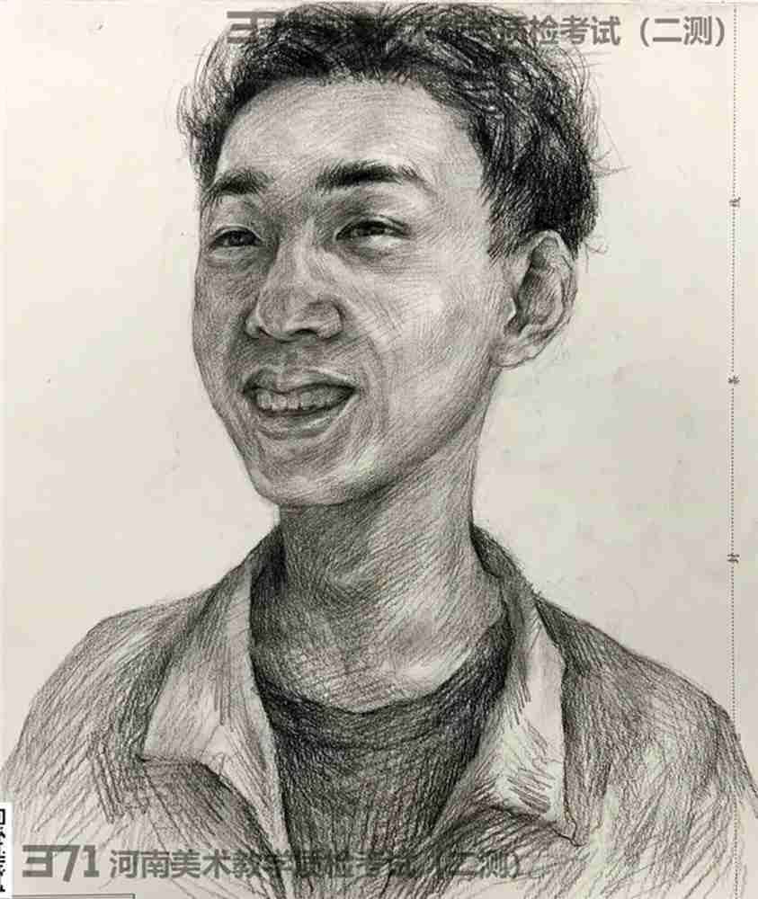 为更好的打磨自己,杭州画室集训班分享2021届河南省二模高分卷,27