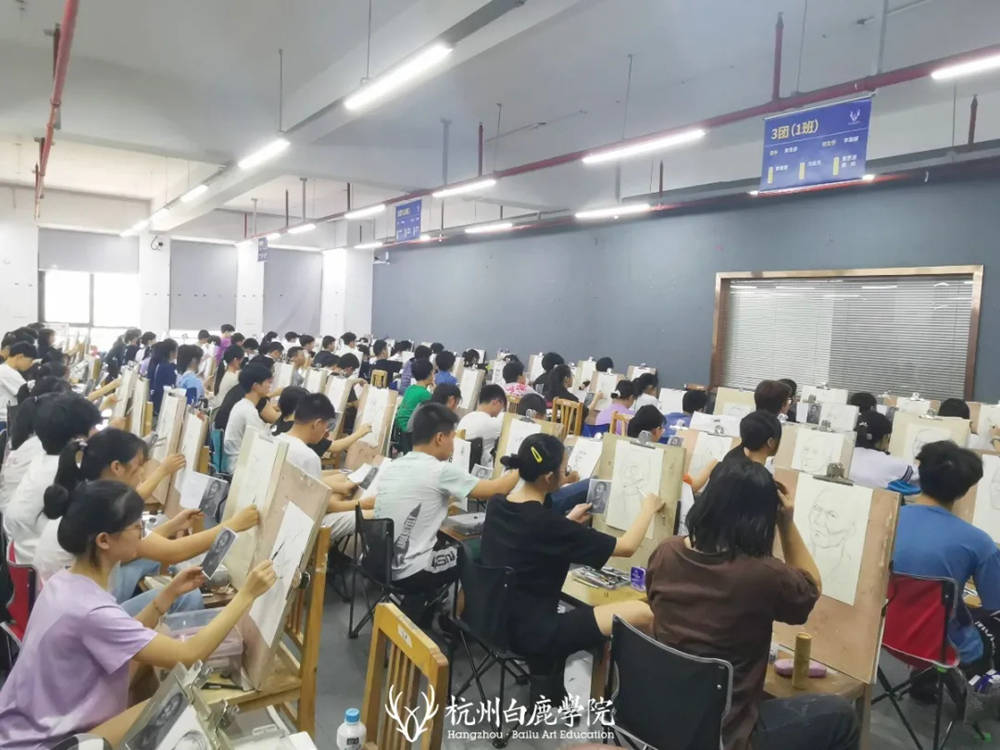 杭州艺考画室日常 | 你说美术生考大学很容易?要不你来试一试,25