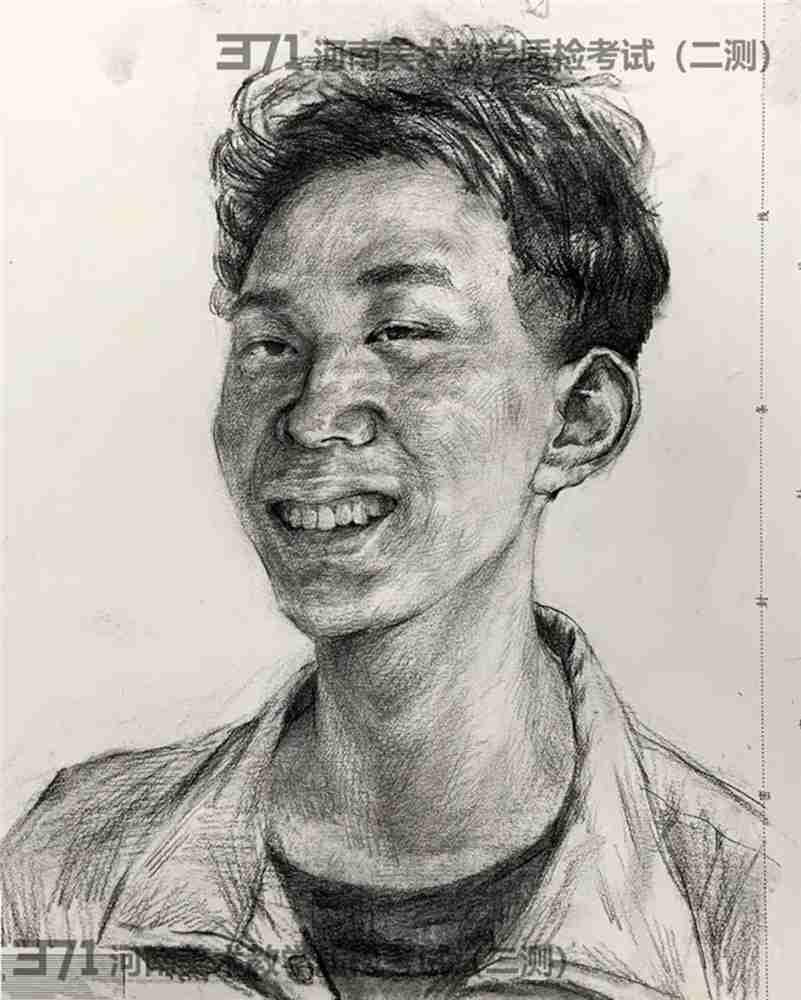 为更好的打磨自己,杭州画室集训班分享2021届河南省二模高分卷,31